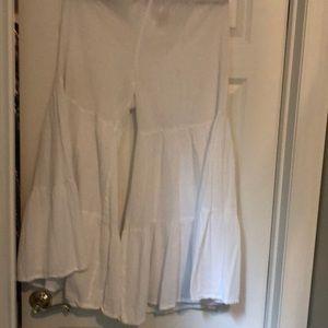 White Gauze Pants